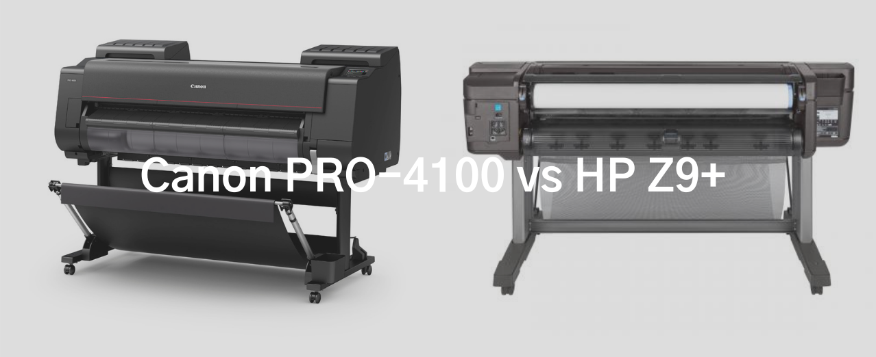 Canon PRO-4100 v HP Z9+ product comparison